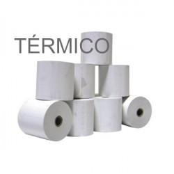 Rolo Papel Térmico 80x80x11...