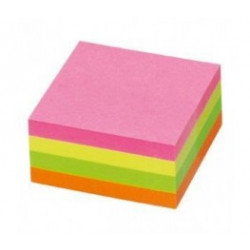 Bloco (Cubo) Adesivo Neon...