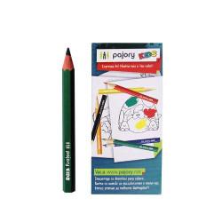 Lápis de Cor Curtos C/6 Eco...