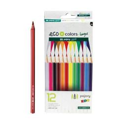 Lápis de Cor Longos C/12 Eco
