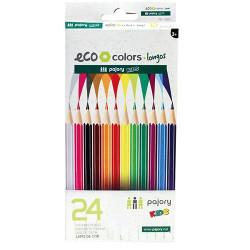 Lápis de Cor Curtos C/24...
