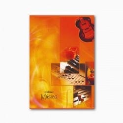 Caderno de música A5 20Flhs...