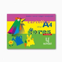 Bloco de Cartolina colorido...