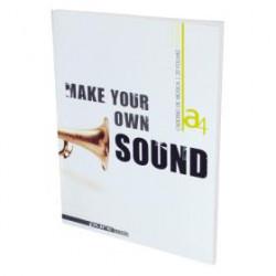 Caderno de música A5 40...