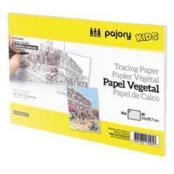 Bloco de papel vegetal A4...
