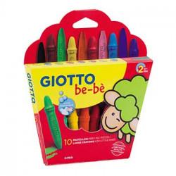 Lápis Cera Giotto Be-Be 10...