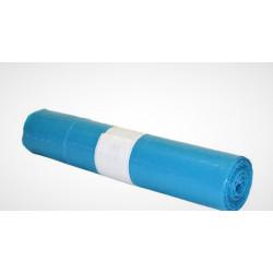 Saco Lixo em Rolo 80x120 Azul