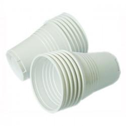 Copos Plastico 080ml Branco...