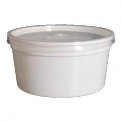Taça Plástico C/Tampa Sopa...