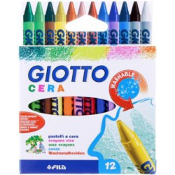 Lápis de Cera Giotto - 12...
