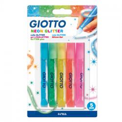 Marcadores Giotto Glitter...