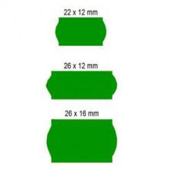 Etiquetas 26X12mm AD2 Verde...